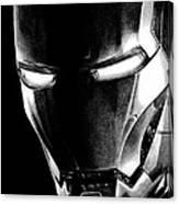 Black Led Avenger Canvas Print