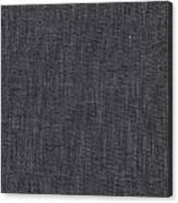 Black Linen Texture Canvas Print