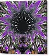 Black Magic Wand Fractal Canvas Print