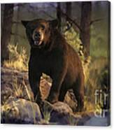 Black Max Canvas Print