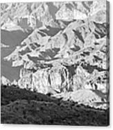 Black Mountains Of Arizona Canvas Print