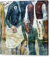 Black Panther Mural Berkeley Ca1977 Canvas Print