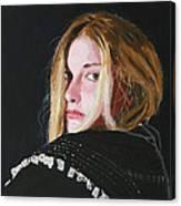 Black Princess - The Sword of Magic Canvas Print