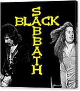Black Sabbath 1978 Canvas Print