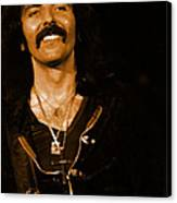 Black Sabbath #46 Enhanced In Amber Canvas Print
