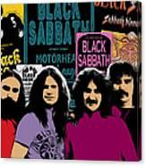 Black Sabbath Canvas Print