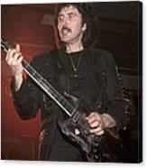Black Sabbath - Tony Iommi Canvas Print