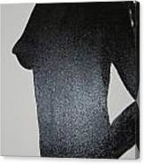 Black Silhouette Canvas Print