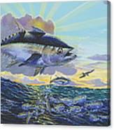 Blackfin Bust Off00116 Canvas Print