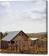 The Blackfoot Barn Canvas Print