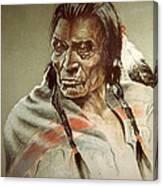 Blackfoot Indian Canvas Print Canvas Art By James Eldridge