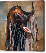 Blackfoot Medicine Man Canvas Print