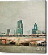 Blackfriars Bridge Canvas Print
