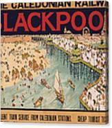 Blackpool Canvas Print