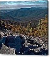 Blackrock Summit Toned Canvas Print