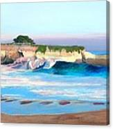 Blacks Beach - Santa Cruz Canvas Print