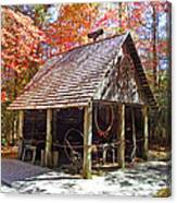 Blacksmith Shop In The Fall Canvas Print