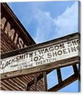 Blacksmith Shop Canvas Print