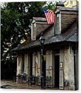 Blacksmith Shop On A Rainy Day Canvas Print