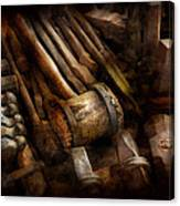 Blacksmith - The Art Of Pounding  Canvas Print