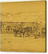 Blacksmiths Department Hd. Qts Canvas Print