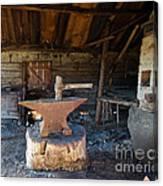 Blacksmiths Tools Canvas Print