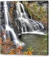 Blackwater Falls-2a Blackwater Falls State Park Wv Autumn Mid-morning Canvas Print