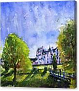 Blair Castle Bridge Scotland Canvas Print