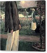 Blanche, Jaques 1861-1942. Jean Cocteau Canvas Print