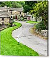 Blanchland Cottages Canvas Print