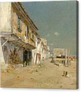Blanes Beach Canvas Print