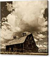 Blasdel Barn Canvas Print