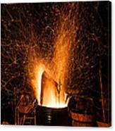 Blazing Bonfire Canvas Print