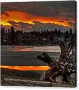 Blazing Sunset II Canvas Print