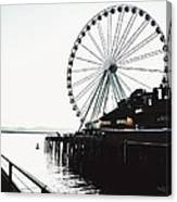 Bleached Waterfront Canvas Print