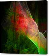 Bleeding Green Canvas Print