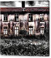 Bleeding House Canvas Print