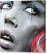 Bleeding Rose Canvas Print