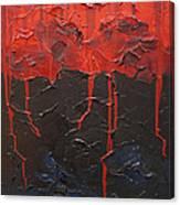 Bleeding sky Canvas Print