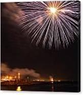 Blessing Of The Fleet - Fremantle 2am-112472 Canvas Print