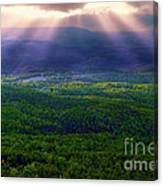 Blessings From Above Canvas Print