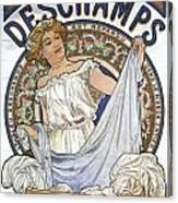Bleu Deschamps Canvas Print