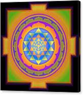 Bliss Yantra Canvas Print