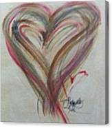 Blissful Heart Canvas Print