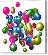 Blobs Of Fun... Canvas Print