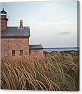 Block Island North West Lighthouse Canvas Print