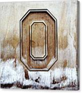 Block O Canvas Print