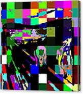 Blocked Scream Canvas Print
