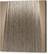 Blonde Hair Perfect Straight Canvas Print