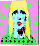 Blondie Canvas Print